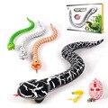 Infrarot Fernbedienung Rassel Schlange Spielzeug Simulation Rattlesnake April scherz DayRechargeable Fernbedienung Realistische für Kinder-in RC-Roboter & Tiere aus Spielzeug und Hobbys bei