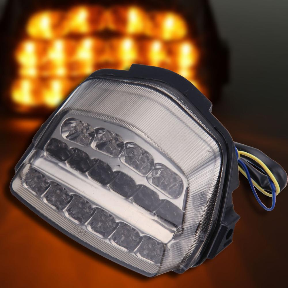 NEW Integrated LED Turn Signals Tail Light For <font><b>Honda</b></font> <font><b>CBR</b></font> <font><b>1000</b></font> <font><b>RR</b></font> <font><b>2008</b></font> 2009 2010 2011 2012 Motorcycle Free Shipping image