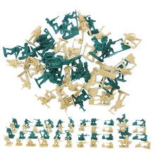 Модель солдата высотой 5 см военная Песочная коробка игра пластиковая
