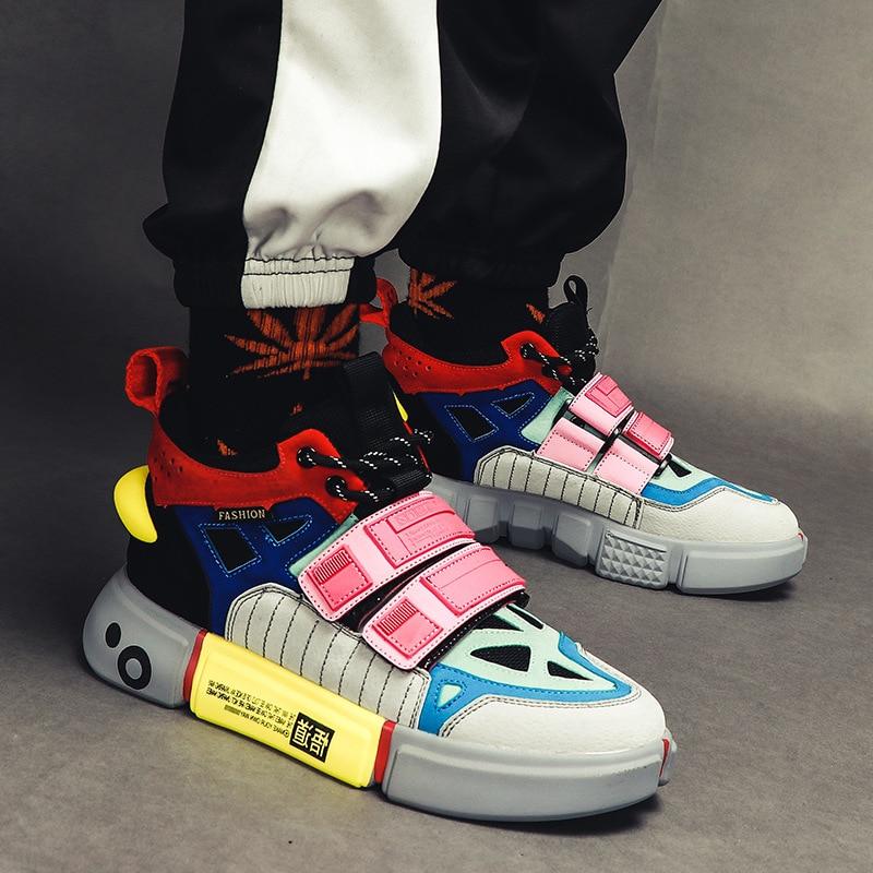 Hommes chaussures chaussures de sport hommes chaussures vulcanisées respirant noir Sneakers chaussures de course décontractées nouveaux hommes baskets plat Sneaker