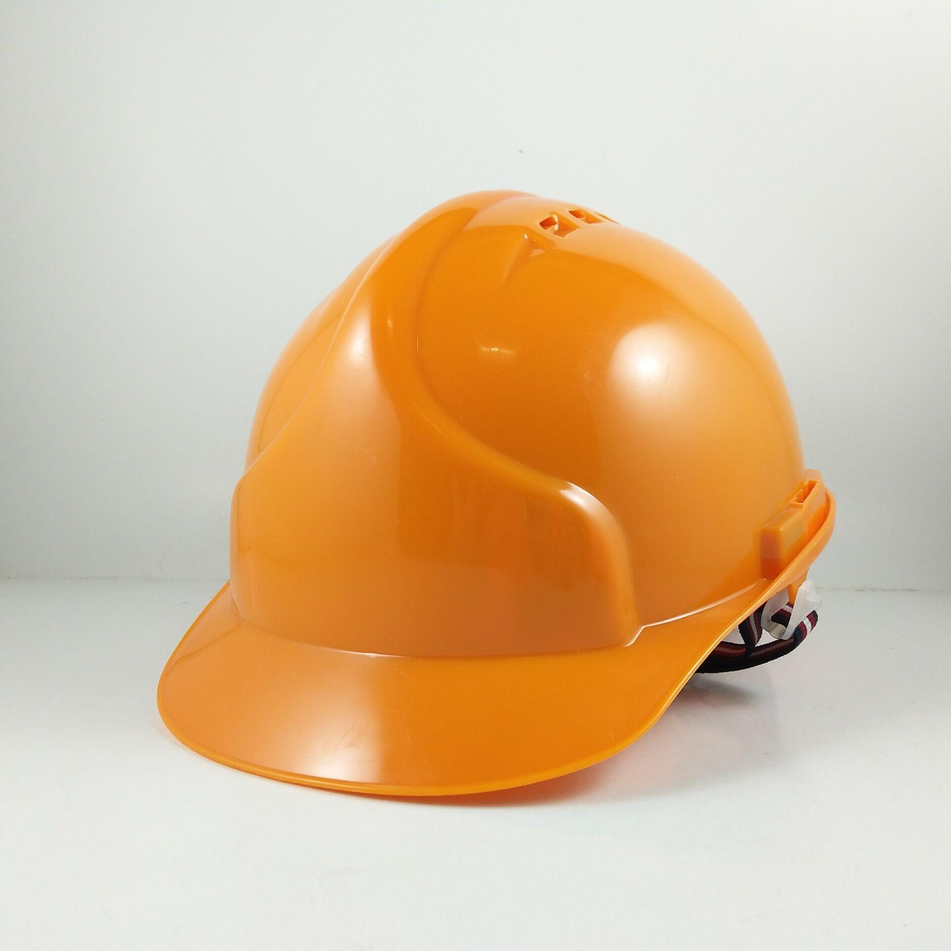 Manufacturers 9999 Work Site Protective Cap Plastic Helmet PE Safety Helmet Sun Hat Customizable Engineering Use Hat Architectur