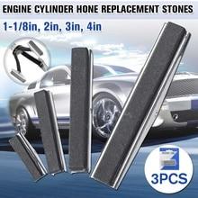 3 шт./компл. отточить Сменные камни для тормозного поршня двигателя Цилиндр Хонинговальный инструмент Замена камня 1,125/2/3/4 дюйма 4 размера