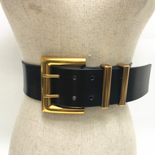 Women Belt Hot High Quality Genuine Leatherneedle Buckle Waist Seal Ultra Wide C