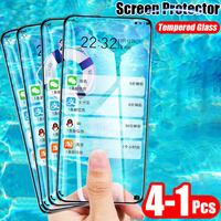 4-1Pcs Full Tempered Glass Cover For Xiaomi Redmi 7 7A Note 8 7 Pro Screen Protector Film For Note 7 8 Pro Protective Glass