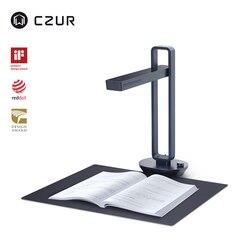 CZUR Aura Pro portátil plegable 14MP libro escáner de documentos tamaño máximo A3 con lámpara led para mesa de escritorio OCR inteligente para la oficina en casa de la familia