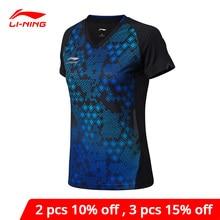 Li-Ning Women Table Tennis T-shirt For National Team Breatha