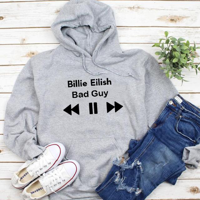 BILLIE EILISH BAD GUY HOODIE (6 VARIAN)