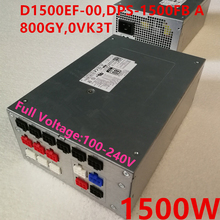 PSU Power-Supply Area-51 1500W New for Dell Alienware/Area-51/R2/.. D1500ef-00/Dps-1500fb/A/..