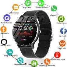 LIGE 2021 Fashion Smart Watch Ladies Heart Rate Blood Pressure Multifunctional Sport Watch Men Woman Waterproof Smartwatch Women