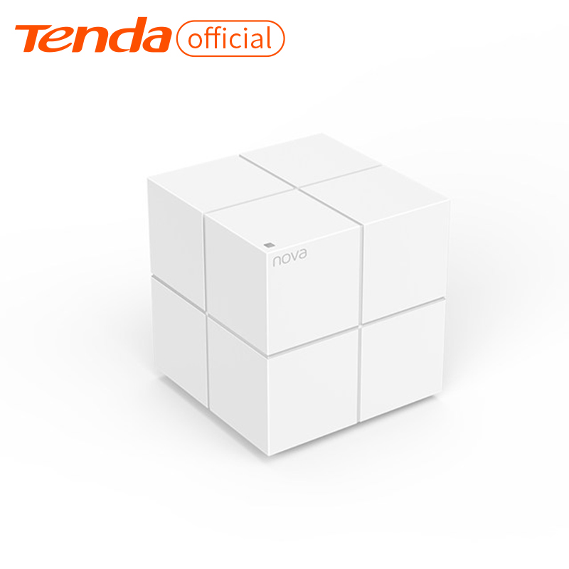 Tenda MW6 Whole Home Mesh Wireless WiFi System with 2.4G/5.0GHz WiFi Wireless Router and Repeater, APP Remote Manage 2