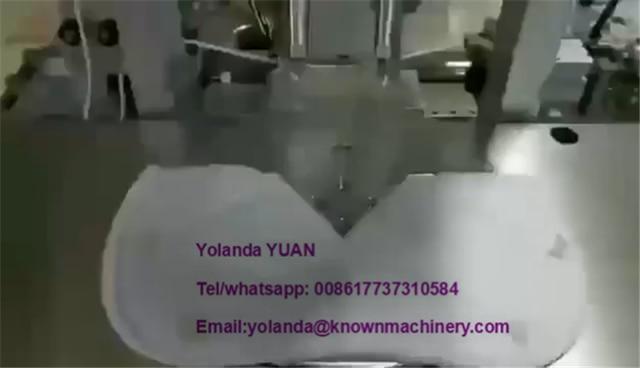 Mask ear sewing machine semi-automatic N95 mask ear strap machine adult mask hanging welding machine 5