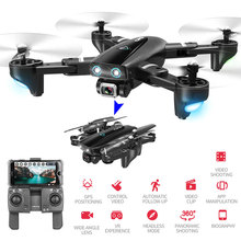 Camera Drones 5G GPS WIFI FPV Quadcopter With 1080P HD Wide Angle Camera Foldable Altitude Hold Durable RC Drone