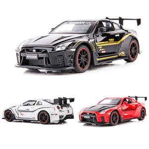 1:32 Nissan-GTR R35 die cast alloy car model supercar Boy gift collectibles Child car toy free shipping