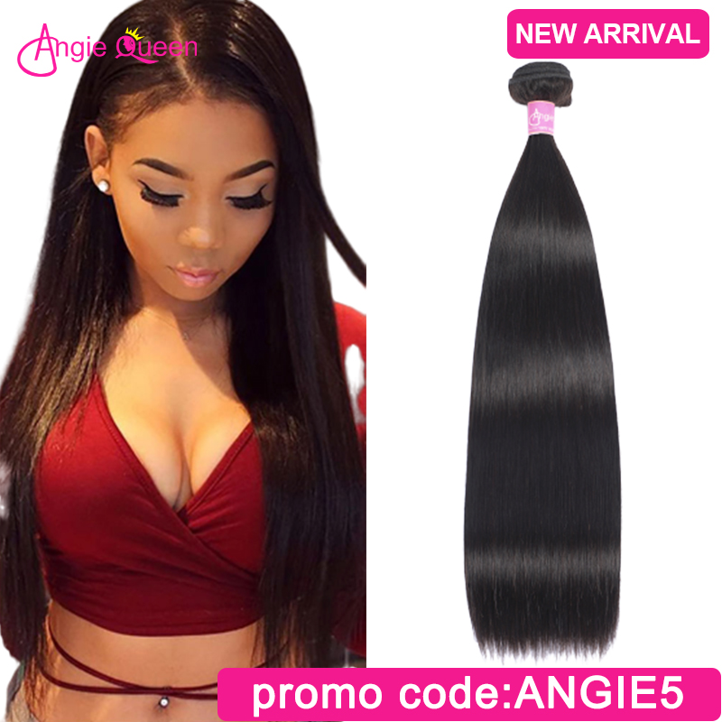 Straight Hair Bundles Peruvian Hair Bundles Remy Hair Bundles Weaves 100% Human Hair Bundles Weft Straight 1 Bundle 24 26 Inch