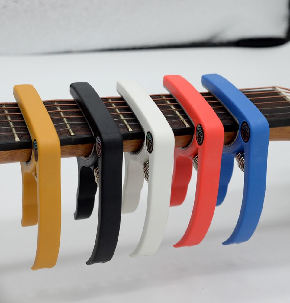 קאפו לגיטרה יוקללי חשמלית צוואר צבעוני לרכישה לוקו0ט במבצע