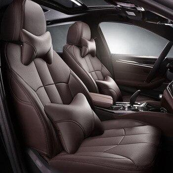 Custom car Seat Covers leather for Toyota FJ Cruiser Corolla Prius Venza Land Cruiser Prado RAV4 86 Camry car accessories stylin