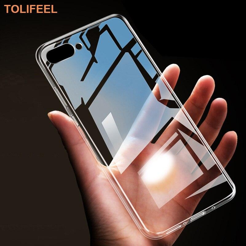 Чехол TOLIFEEL для Huawei Honor 10, мягкий силиконовый прозрачный чехол-бампер из ТПУ для Huawei Honor 10 Honor10, прозрачный чехол-накладка