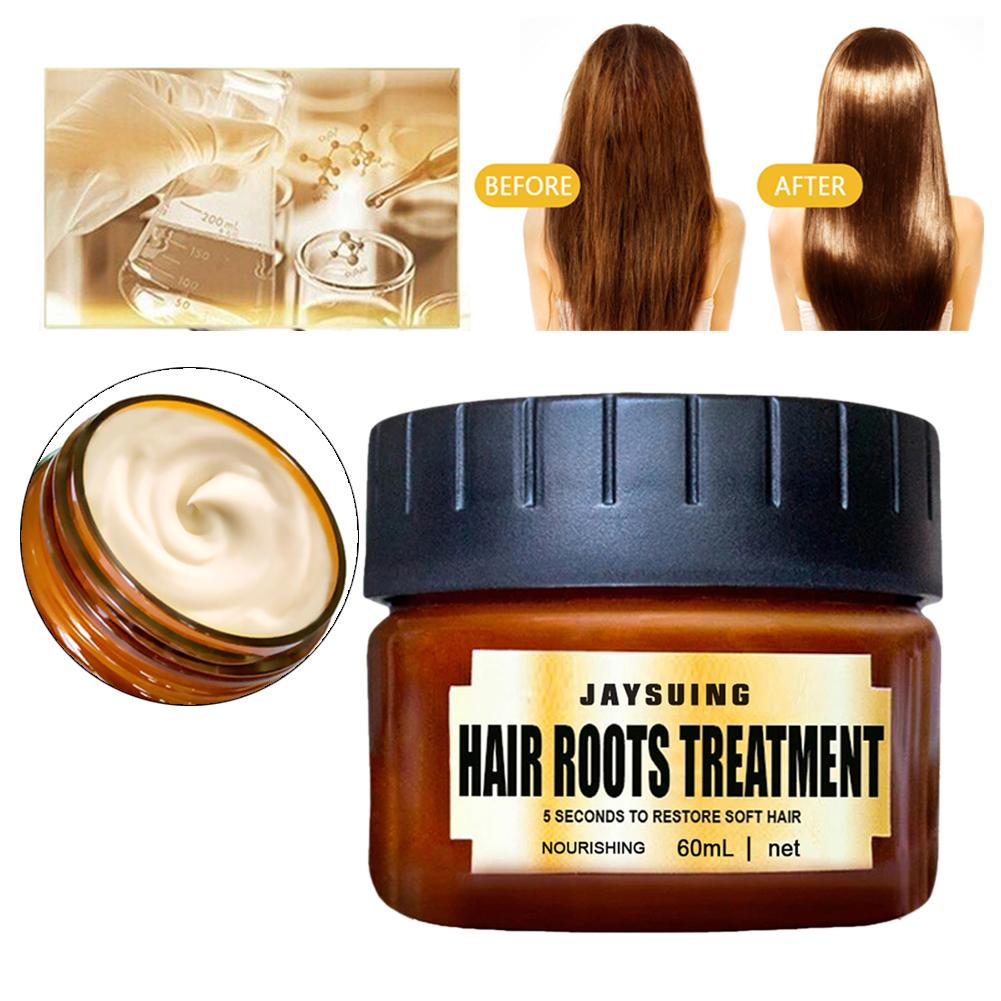 60ML Argan oil protein protein repair hair mask smooth moisturizing cream suitable for anti-hair loss dry damaged hair care image