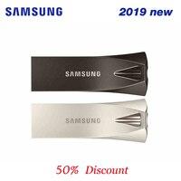 SAMSUNG BAR PLUS 3.1 USB Flash Drive 32gb 64gb 128gb 256gb USB3.1 up to 200MB/s compatible USB 3.0 pen drive memory flash disk|USB Flash Drives| |  -