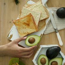 Prop-Toast Breakfast-Props Simulation Photography-Props Avocado-Display of