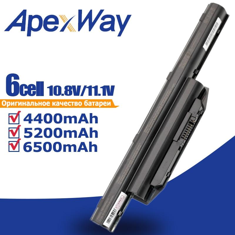 ApexWay 6 Cells Laptop Battery For Fujitsu LifeBook A544 AH564 E733 E734 E743 E744 E753 E754 S904 SH904