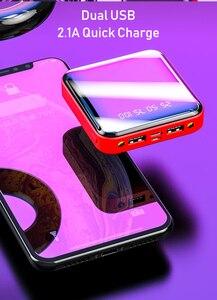 Image 5 - Power Bank 20000 mAh 2.1A szybkie ładowanie PowerBank 20000 mAh USB PowerBank zewnętrzna ładowarka do Xiaomi Mi 9 8 iPhone 11 X