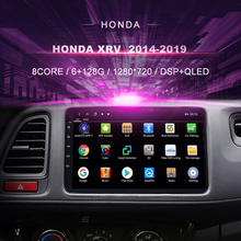 Auto Dvd Voor Honda Xrv Hrv/Vezel \u00282014-2019\u0029 auto Radio Multimedia Video Player Navigatie Gps Android 10.0 Dubbel Din