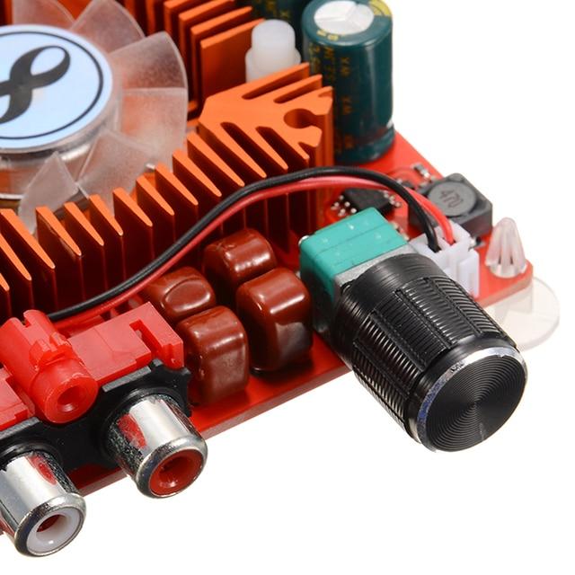 BTL220W Audio Amplifiers Board TDA7498E 160W+160W 2 Channel Digital Audio High Power Amplifier Board Module DC 15 36V