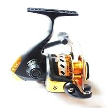 цена на Folding Fish Wheel 5.1:1 Spinning Fishing Reels Wheel Spinning Reel Pardew Lure Wheel Vessel Bait Casting Black Gold Flying Fish