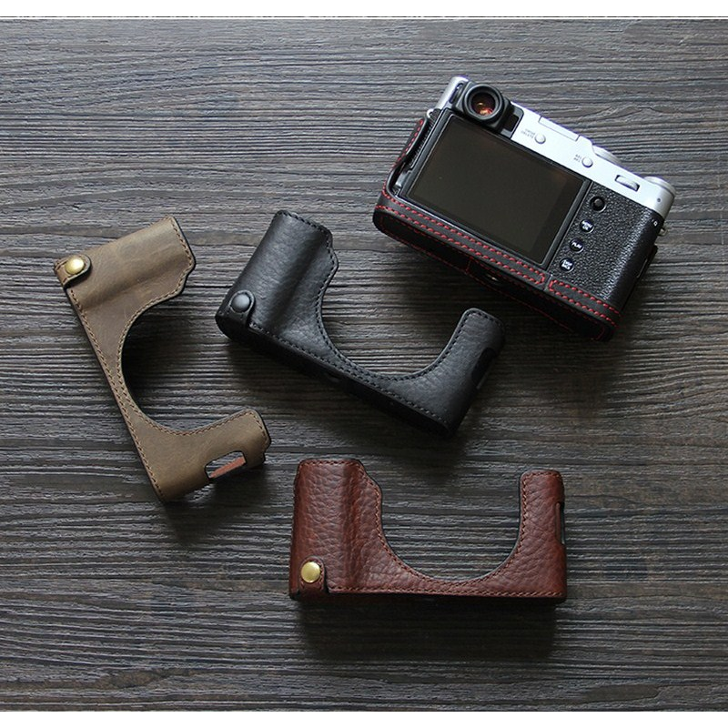 Cowhide Fuji X100V Leather Case Fuji X100v Leather Case X100v Protective Case Camera Bag Camera Leather Case Semi-Case