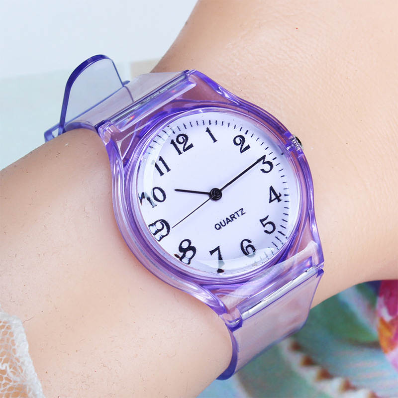 UTHAI CQ25 kids watch children quartz watches wristwatch jelly for girl a boy clocks