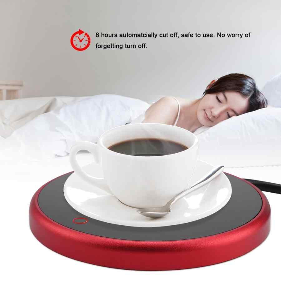 ホット 15 ワット電動カップウォーマーヒーターパッド 220 v ホットプレートコーヒー紅茶ミルクマグカッププラグホワイト家庭用オフィス