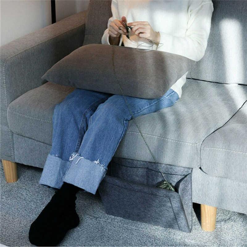 منظم تخزين السرير العلبة المعلقة حامل السرير جيوب السرير جيب أريكة منظم جيوب كتاب ورأى جيوب حامل السرير