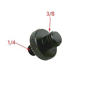 """Image 4 - 10 pces 1/4 """"a 3/8"""" 5/8 """"a 1/4"""" macho para rosca fêmea parafuso adaptador de montagem placa tripé parafuso montagem para câmera slr"""