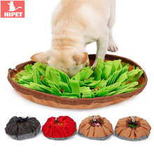 Pet Cat Slow Feeder Bowl Dog Toy Anti Choking Foldable Search Training Puppy Cats Dogs Food Dish Plate