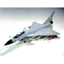цена на Trumpeter 1:48  Scale Chinese PLAAF J-10S J-10A Vigorous Dragon Fighter Plane Airplane Aircraft Toy Plastic Assembly Model Kit