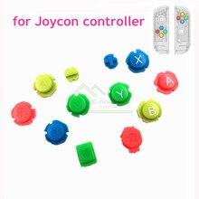 Diy abxy d almofada botões substituição para nintend switch joy con controlador para joycon esquerda direita controlador