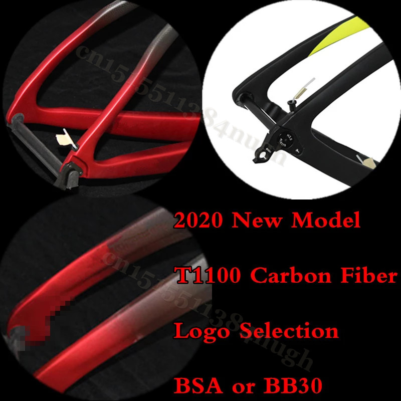 Internal Cable Road Race Full T1100 Carbon Bike QR And Axle Disk Brake 700C Bicycle Frame Cycling Road Bike Carbon Disk Frameset