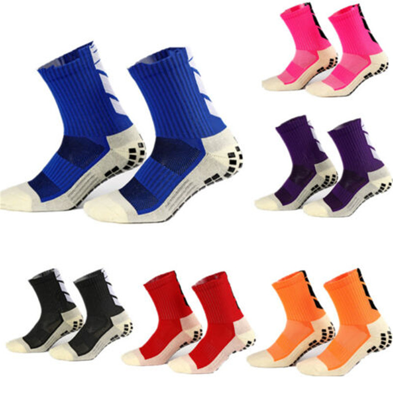 Adult Outdoor Football Cycling Socks Non-Slip Wear-Resistant Breathable Sports Men Soccer Socks Absorb Sweat Women Sports Socks