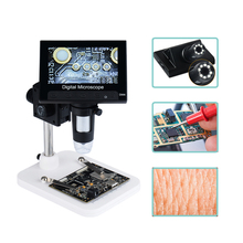 LED Microscope Welding-Reading Digital Portable 1000X 8 Dm4-Screen Usb-Interface