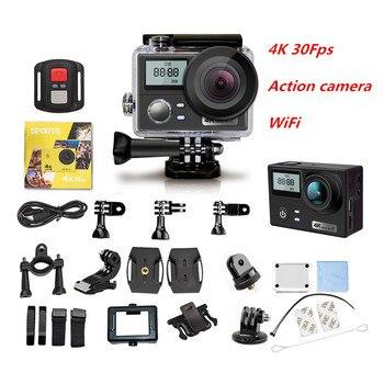 Action Camera Ultra HD 4K/30fps Dual Screen Wifi 16MP Sport Camera Remote control 30M underwater waterproof sports DV Camera