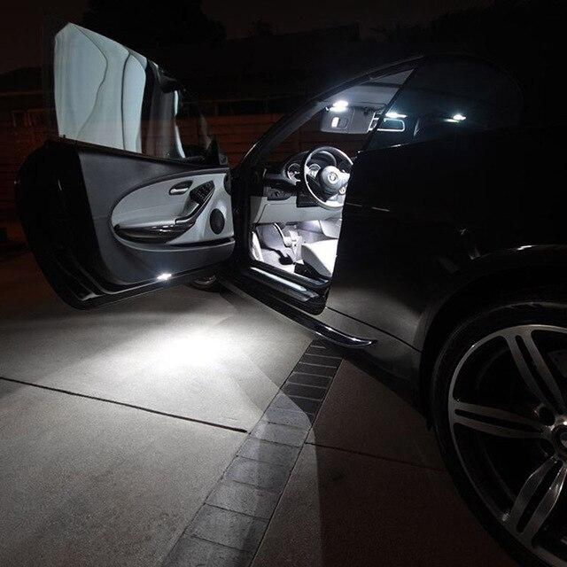 Edislight 17Pcs Canbus No Error LED Lamp Car Bulb Interior Package Kit For 2007-2015 Cadillac Escalade Map Dome Door Plate Light 4