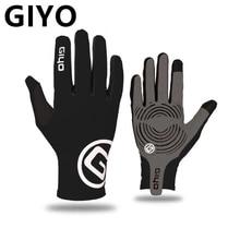 Cycling-Gloves Gel Road-Bike Touch-Screen MTB GIYO Riding Long Full-Fingers Women