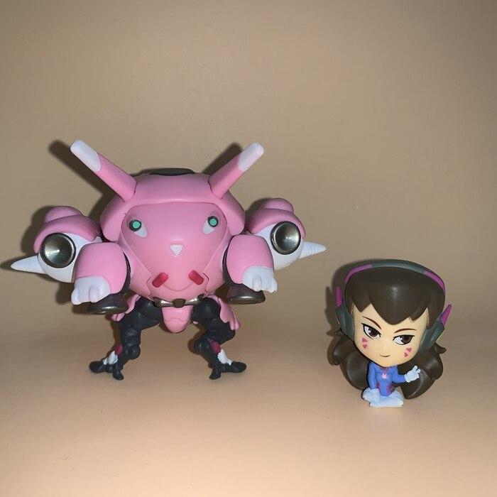 13cm Overwatch Dva D.Va Action Figure Toys Game Doll Gift 5