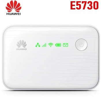 10PCS/lot HUAWEI E5730S Ethernet 3G Mobile WiFi Hotspot 42Mbps Support Wireless TO Wired Network 5200mAh Power Bank Functions