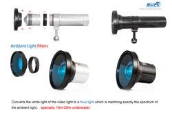 Filtre de lumière ambiante SUPE Scubalamp pour V6K/V4K/V6K PRO/V4K PRO