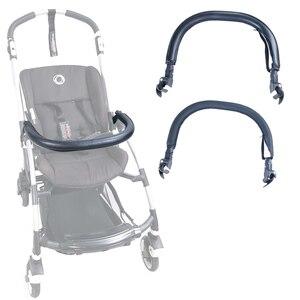 Image 2 - Бампер для детской коляски, подлокотник из искусственной кожи и ткани Оксфорд для Bugaboo Bee3, поручни для коляски, аксессуары для детской коляски