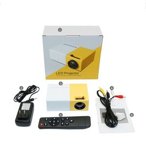 Image 4 - J9 Mini projektor LED 1080P projektor HD Ultra projektory Mini projektor obsługa telefonu komórkowego multimedialny zestaw kina domowego