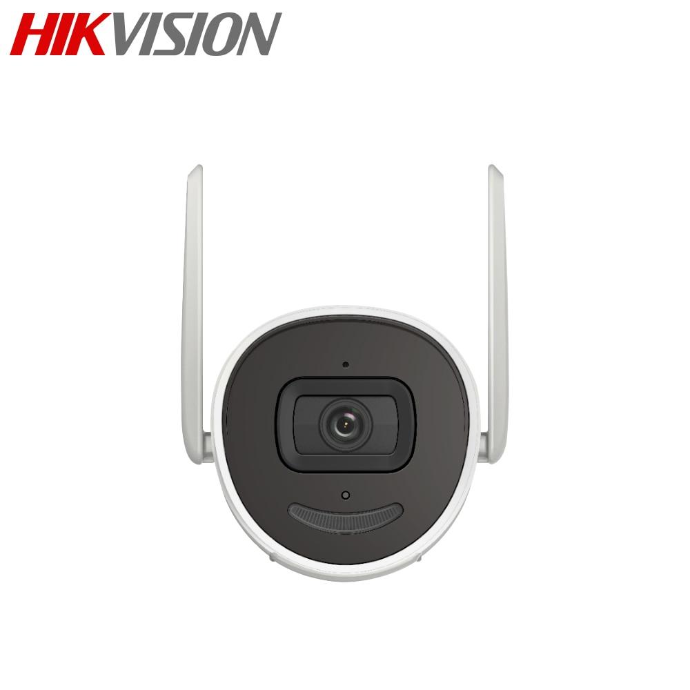 Hikvision – caméra Bullet IP Wifi 4MP sans fil DS-2CV2041G2-IDW IR, avec fente pour carte SD, H.265 +, étanche, remplace le modèle DS-2CD2041G1-IDW1 2