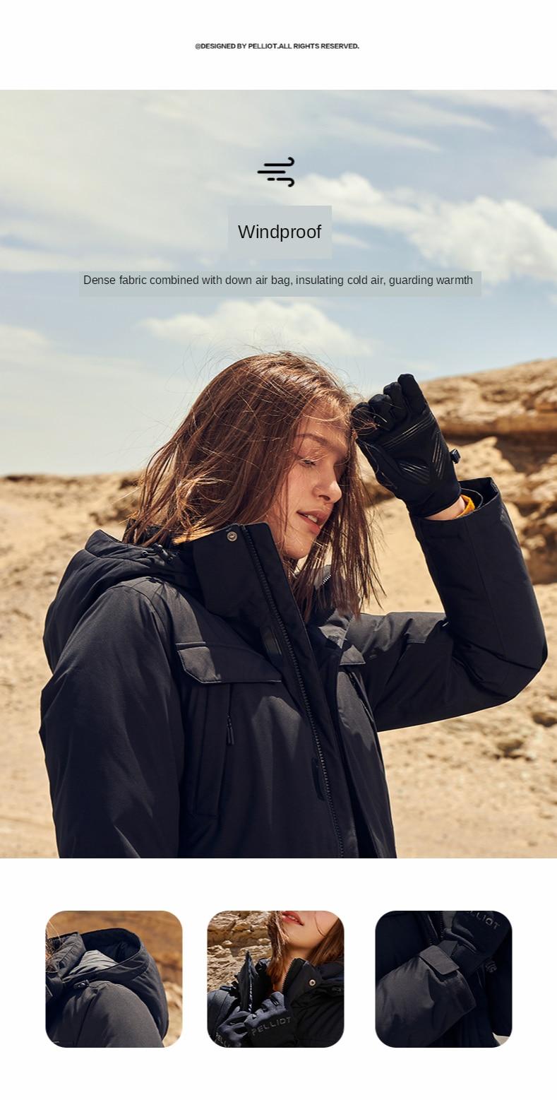 Pelliot acampamento turismo jaqueta feminina jaquetas de